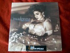 """Madonna """"Like a Virgin""""- 1LP Vinyle Transparent, Edition Spéciale- Neuf Scellé."""