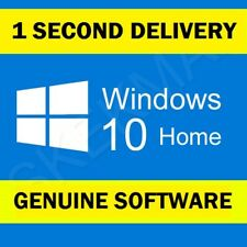 Genuine Windows 10 Home Edition Product Retail License Key 32bit Or 64Bit PC