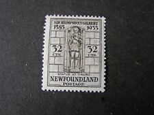 NEWFOUNDLAND, SCOTT # 225, 32c VALUE GRAY 1933 ANNEX.OF NEWFOUNDLAND MVLH