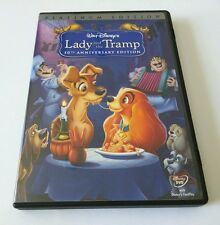 Lady and the Tramp (DVD, 2006, 2-Disc Set, 50th Anniversary Edition) *GENUINE*