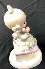 "Precious Moments, ""Tell it to Jesus, Samuel J. Butcher, 1989, Enesco, 521477"