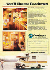 1979 Dodge Camper Van Coachmen 2-page- Original Car Advertisement Print Ad J171