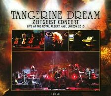 Zeitgeist Concert: Live at the Royal Albert Hall London 2010 [Box] by Tangerine Dream (CD, Apr-2013, 3 Discs, Purple Pyramid)