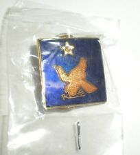 WWII USAAF 2ND AIR FORCE PIN - CURRENT PRODUCTION - GREAT FOR CAPS/JACKETS!