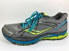 Saucony Triumph 9 Gray Blue Running Shoes Womens Size 10.5