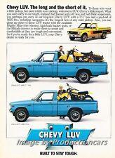1979 Chevrolet Chevy Luv Truck Original Advertisement Print Art Car Ad J742