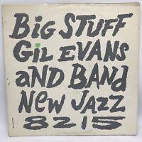 "Gil Evans ""Big Stuff"" Jazz LP Prestige New Jazz 8215 Mono Purple Label VG / VG"