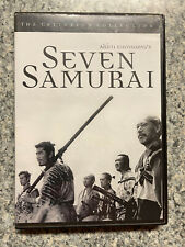 Seven Samurai The Criterion Collection Dvd Akira Kurosawa