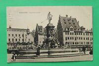 MFR) Bayern AK Nürnberg 1908 Neptunbrunnen Gebäude Architektur