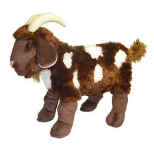"""ADORE 15"""" Standing Mocha the Spotted Goat Plush Stuffed Animal Toy"""