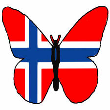 ✿ 24 Edible Rice Paper Cup Cake Toppings, Cake decs - Norwegian butterfly ✿