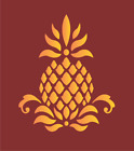 Prim Pineapple Stencil Colonial Folk Art Historic Family Welcome Home DIY Signs