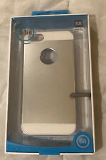 Monoprice Metal alloy Protective Case for iPhone® Silver 5/5s/SE - New
