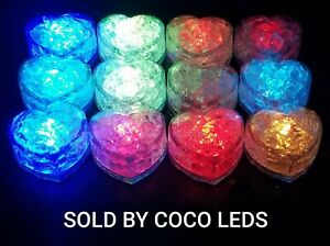 ICE CUBES LEDS light up 12 pack - Multicolor sensor liquid for drinks/parties
