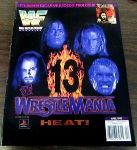 WWF WORLD WRESTLING FEDERATION  - APRIL 1997  - WRESTLEMANIA 13 -  COVER