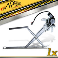 A-Premium Front L/&R Window Regulator with 4-Pins Motor for Honda CR-V 1997-2001