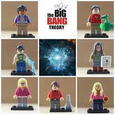 Big Bang Theory Leonard Sheldon Models Collectibles 7xMini Figures Use With lego
