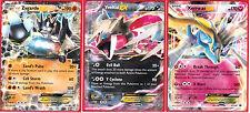 Pokemon XY Xerneas EX XY149, Yveltal EX XY150 and Zygarde EX XY151 Card Set of 3