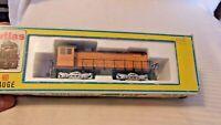 HO Scale Atlas Union Pacific Alco S-2 Diesel Locomotive #41151, Yellow, BNOS