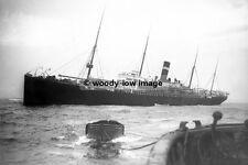 rp3904 - Red Star Line Liner - Gothland aground - photo 6x4