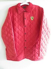 Ferrari Jacket Red = Size L Large, Fits like XL