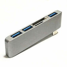 USB Hub Multiport Adapter with USB 3.0 Port SD/Micro SD Card Reader