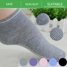 06b2a9742f2cd Women Ladies Sports Pilates Cotton Rich Yoga Non-Slip Grip Socks Gym  Exercise AU