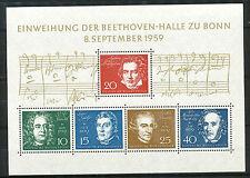 Bundespost blok  2 postfris