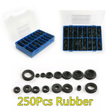 Car Rubber Grommet Firewall Hole Plug Electrical Wire Gasket Kit 250X 18 Sizes