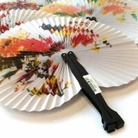6,12, 24 PAPER CHINESE PAPER FAN TOY WEDDING FAVORS BIRTHDAY PARTY BAG FILLERS