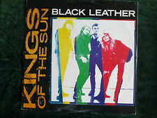 "Kings Of The Sun Stereo 12"" 45 rpm Vinyl  Black Leather 1988"
