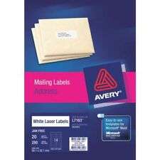 Avery Label L7163 General Use 14up 99.1x38.1mm Box of 100 Sheets Has been opened