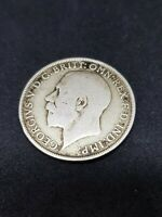 1921 British Silver One Florin Coin  - George V