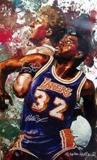 "Stephan Holland   ""Magic Johnson and Larry Bird"" on Canvas  MAKE  OFFER   #DDSBA"