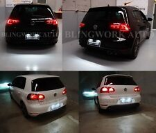 LED Number Plate REGO Light White Super Bright for Volkswagen GOLF 4 MK5 MK6 MK7