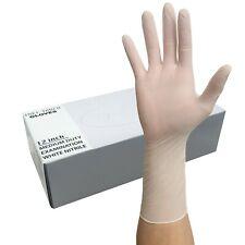 Nitrile Heavy Duty Gloves 12 Length 45mil White 50 Pk Fast Ship