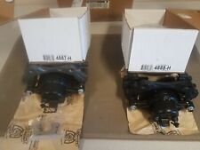 Set of 2 L and R. NEW OEM AC Delco DELPHI Brake Calipers with Brackets. Fronts.