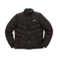 ALPINESTARS CHALLENGE Black Casual Sports Poly Filled Puff Jacket Motorcross