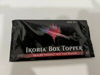 Ikoria Lair of Behemoths BOX TOPPER NEW SEALED IN HAND MTG
