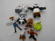2011 MCDONALDS KUNG FU PANDA 2 LOT SET 8 FIGURE¤PO¤SHIFU¤MONKEY¤TIGRESS¤SHEN