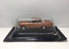 Konami 1/64 NISSAN PRINCE SKYLINE  Sport BLRA-3 1962 Diecast Car Model Bronze
