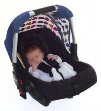 Poussettes et systèmes combinés de promenade bleu avec capuche, auvent pour bébé