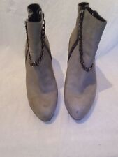 All saints ladies taupe boots uk 40 ref ba05