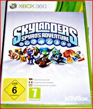 Xbox 360 Skylanders spyros Adventure Game-completamente en alemán + Multilingual