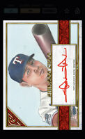 Topps BUNT Shin-Soo Choo RED Signature ICONIC GALLERY 2020 [DIGITAL CARD]