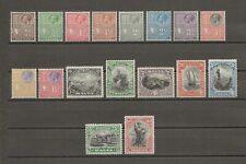 More details for malta 1928 sg 157/72 mint cat £160