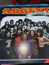 """ARGENT, """"ALL TOGETHER NOW """", VINYL LP RECORD ALBUM, from 1972, on EPIC"""