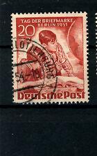 Berlin_1951 Mi.Nr. 81 Tag der Briefmarke
