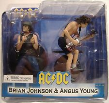 AC/DC BRIAN JOHNSON & ANGUS YOUNG ACTION FIGURE SET FOR THOSE ABOUT TO ROCK NECA