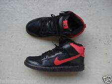"""Nike Air Dunk High Pro SB 45.5 """"Krampus"""" Black/Red"""